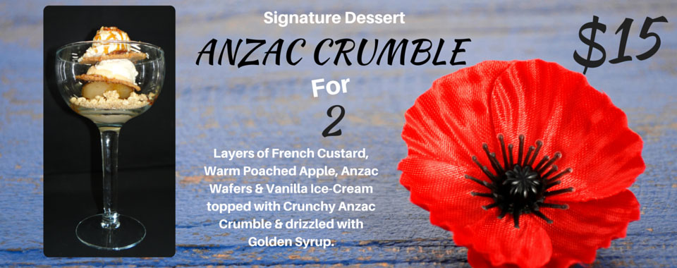 ANZAC CRUMBLE Slide