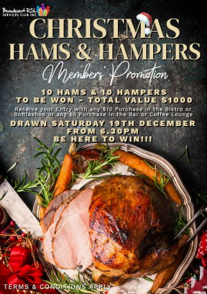 Hams Hampers Promo