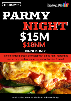 Parmy Night poster 3